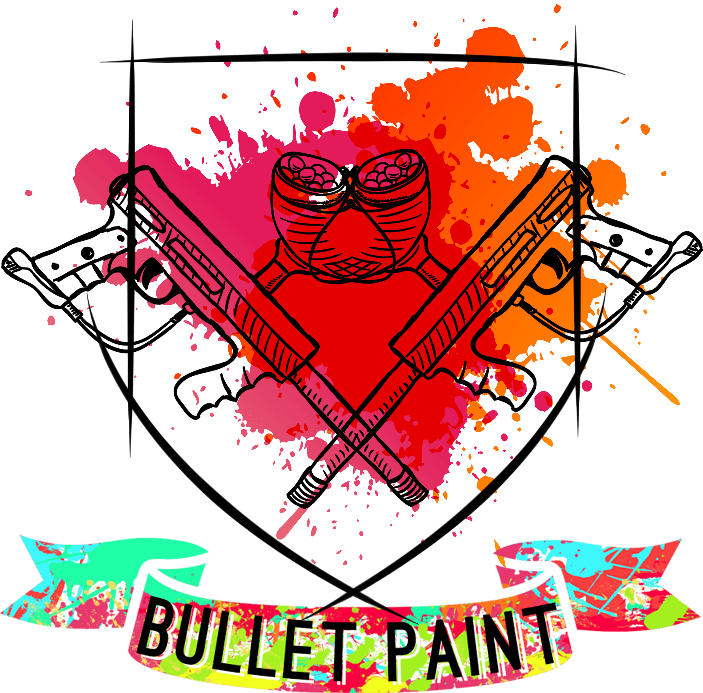 Copy of logo bullet paint